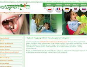 Klinika stomatologiczna w Warszawie -  www.pankrokodyl.pl