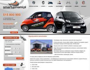 www.smartujznami.pl Wypożyczalnia samochodów Warszawa